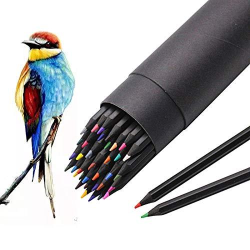 ariel-gxr Farbstifte, 36 Stück, Farbstifte auf Ölbasis, Künstler Zeichenstifte, Aquarellstifte, perfekt für Erwachsene und Kinder, Skizzieren, Kritzeln, Malen, Schreiben
