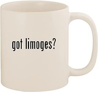 got limoges? - 11oz Ceramic White Coffee Mug Cup, White