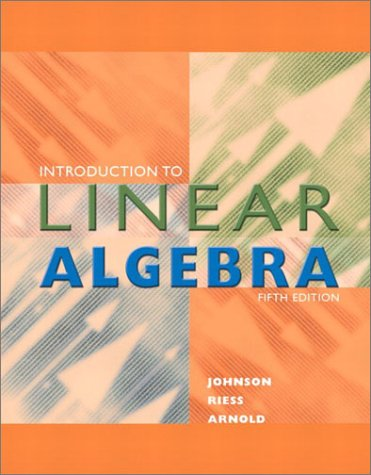Introduction to Linear Algebra (5th Edition)