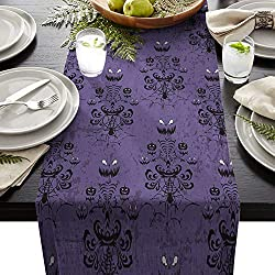 Spooky Disney Haunted Mansion Table Runner