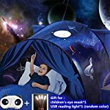 Perfect space: These tents are perfect for children to play and relax. They can help soothe your children and give them a sense of security. Children can hide or read with their children and enjoy beautiful parent-child time High quality: made of 210...
