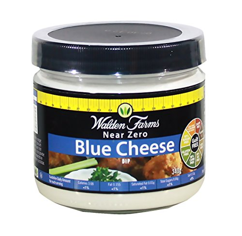 Walden Farms - Near Zero - Bleu Cheese Dip - Salsa para Mojar o Untar con Sabor a Queso...