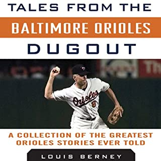 Tales from the Baltimore Orioles Dugout cover art