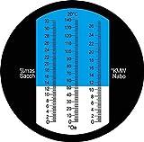Zoom IMG-2 hhtec vignaiolo rifrattometro 0 32
