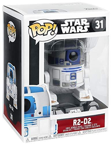 STAR WARS R2-D2 Vinyl Figure 31 Funko Pop! Estándar