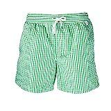 Ralph Lauren bañador para Hombre (XL, Green Gingham)
