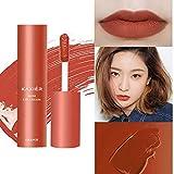 ahanzhu Lip Glaze Sample Matte Impermeable Larga duración Calabaza Color Explosion Pintalabios