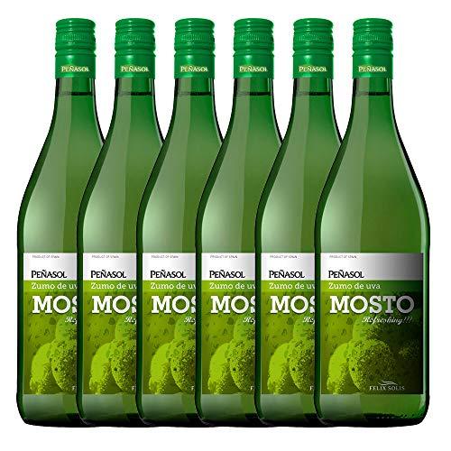 Peñasol Mosto Blanco - Pack -6 x 1000 ml - Total 600ml