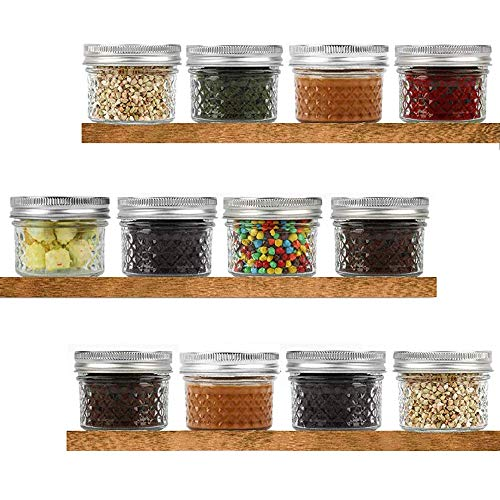 (60% OFF) 12-Pack 4oz Mason Jars $14.40 – Coupon Code