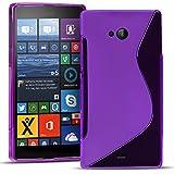 Conie SC19530 S Line Case Kompatibel mit Microsoft Lumia