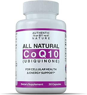CoQ10 200 mg Enhanced for Maximum Absorption Supplement. Made in USA. Coenzyme Q10 Ubiquinol Supports Blood Pressure, Cholesterol and Heart Health for Men, Women. Gluten Free (30 Softgels)