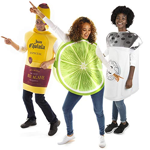 Hauntlook Tequila, Lime & Salt Group Halloween Costume - Funny Fruit Food Suits