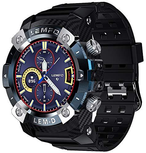 XWZ Reloj Deportivo Inteligente Pulsera Inteligente Rastreador De Ejercicios Reloj TWS Auricular Bluetooth 2In1 360 * 360 Pantalla HD 350Mah Batería Reloj De Pulsera Multilingüe para Hombres