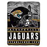 Officially Licensed NFL Jacksonville Jaguars 'Stacked' Silk Touch Throw Blanket, 60' x 80', Multi Color
