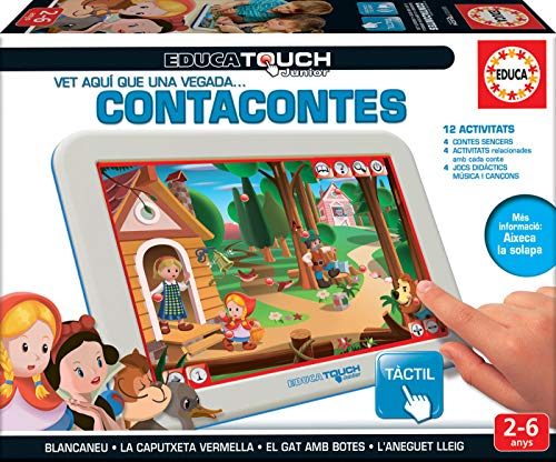 Educa Touch Junior Contacontes, en català (16205)