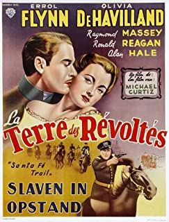 Santa Fe Trail Movie Poster (27 x 40 Inches - 69cm x 102cm) (1940) Belgian -