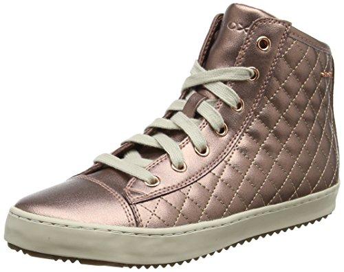 Geox Mädchen J Kalispera Girl F Hohe Sneaker, Pink (Old Rose), 25 EU
