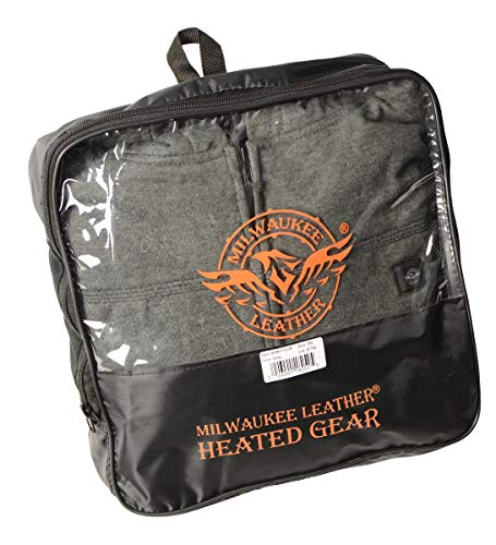 Milwaukee MPM1713SET Sweat à capuche chauffant pour homme avec fermeture Éclair avant et arrière...