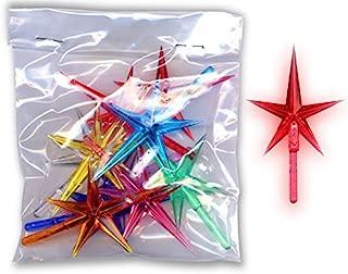 Assorted Stars For Ceramic Christmas Trees (20 Pcs)