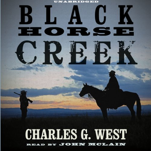Black Horse Creek audiobook cover art