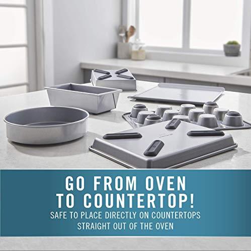 Calphalon Premier Countertop Safe Bakeware 6 Piece Set, 6-Piece Set