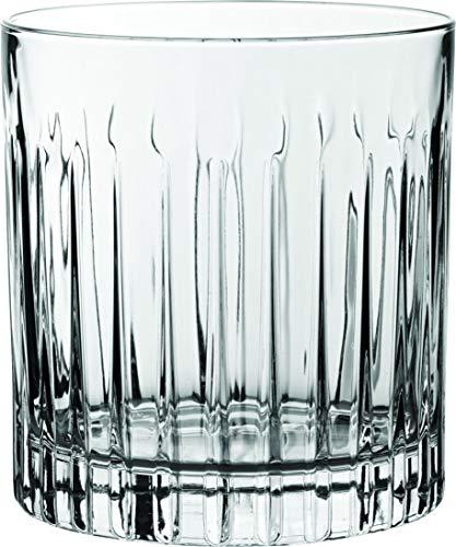 Rcr Timeless juego Vasos para Agua, Vidrio Sonoro, Transparente, 6 Piezas
