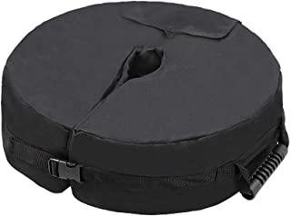 "ValueHall Umbrella Base Weight Bag 18"" Round Weatherproof Umbrella Weights Sand Bags fits Any Offset, Cantilever, Flagpole..."