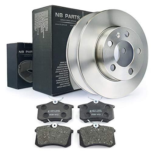 Bremsscheiben + Bremsbeläge hinten NB PARTS GERMANY 10040603