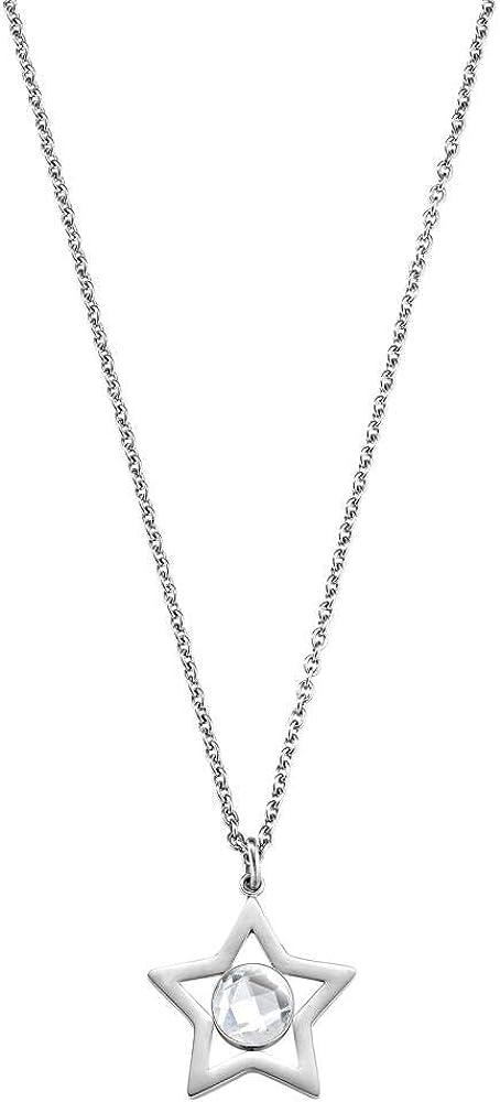 morellato collana da  donna collezione cosmo,  in acciao inossidabile saki01