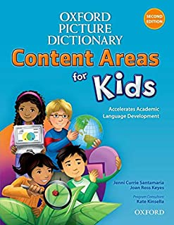 Oxford Picture Dictionary. Content Areas for Kids. English Dictionary