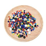 100g Millefiori Glass Color mezclado Fusion térmica Glaseado de color para decoración Kit de bloque de vidrio de fusión en caliente