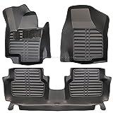 fussmattenprofi.com Tapis de Sol Voiture 3D Premium sur Mesure Adapté pour VW Tiguan (1.Gen) 2007-2016