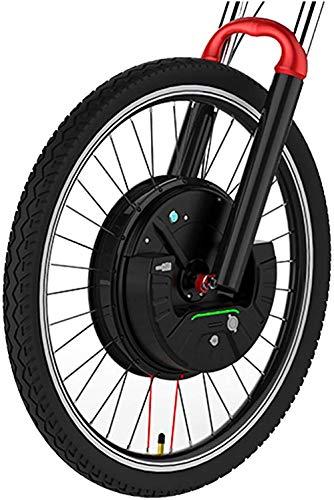 Bicicletas eléctricas Kit de conversión Kit de conversión de la bicicleta eléctrica con batería de 36V 350W DC Motor 24''26''700C MTB bicicleta de carretera EBike delantera del motor Whee (color: Cont