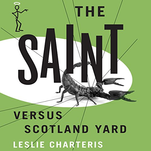 The Saint versus Scotland Yard audiobook cover art