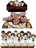 MZZYP Decoración para tartas, decoración de tartas, oblea de pie, decoración para tartas, decoración de extraño, suministros para fiestas de cumpleaños, decoración para niños