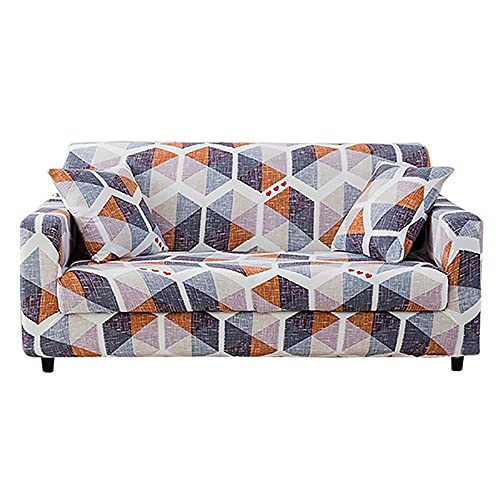 Funda de sofá elástica Asientos de Esquina elásticos Funda de sofá Funda Universal para Sala de Estar Funda de Licra en Forma de L Necesita Comprar 2 uds A15 de 3 plazas