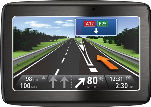 TomTom Via 125 Europe Traffic Navigationssystem (13 cm (5 Zoll) Touchscreen, TMC, Bluetooth, Sprachsteuerung, Parkassistent, IQ Routes, Europa 45)