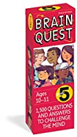 Brain Quest Grade 5: 1,500 Questions and Answers to Challenge the Mind