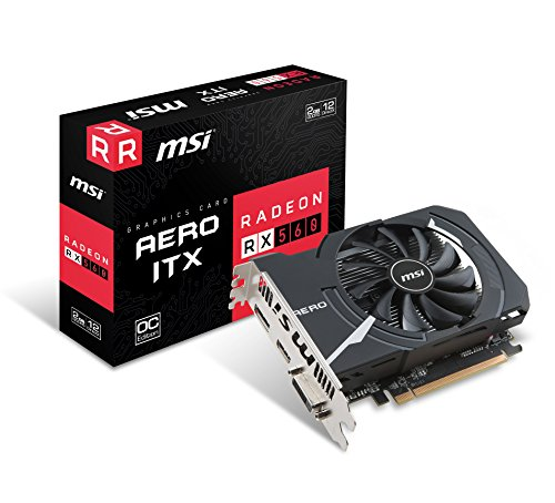 MSI R5604TPC RX 560 4GT LP OC Graphic Cards