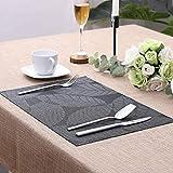 Lovecasa PVC Tischset, Platzset, 6 teilig Set Tischmatte - 2