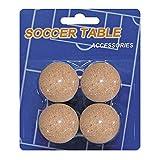 Devessport - Futbolín - Paquete de 4 Bolas de Corcho