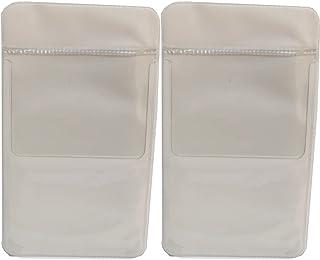 STARTSIDE 胸 ポケット ペンケース オーガナイザー ナース ビジネス スーツ (スクエア白2枚セット)
