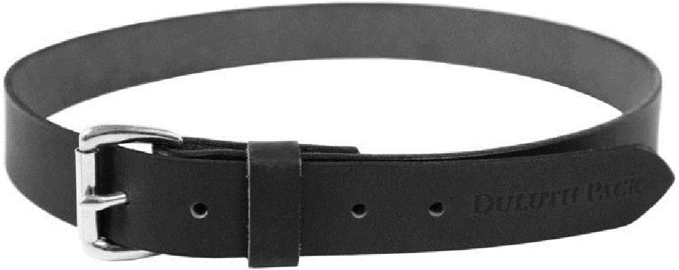 Duluth Pack DP-202-BLK-46 Leather Belt Black 46 Factory outlet X Milwaukee Mall 1.5