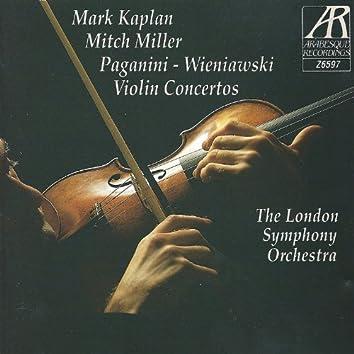 Paganini and Wieniawski: Violin Concertos