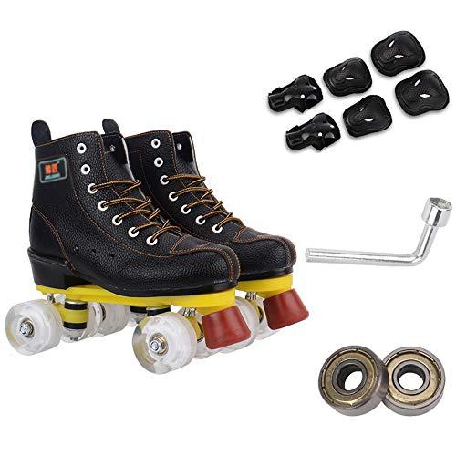 Quad Rink Roller Skate, Verstelbare Rolschaatsen Voor Adult & Jeugd, Geschikt Voor Binnen En Buiten Schaatsen,C,35
