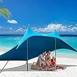 Best Beach Canopies - AKASO Beach Tent, Portable Beach Canopy Sun Shelter Review