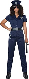 California Costumes Women's Police Woman - Adult Costume Adult Costume, Navy, Medium
