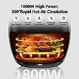 Zoom IMG-1 7l friggitrice ad aria 1800w