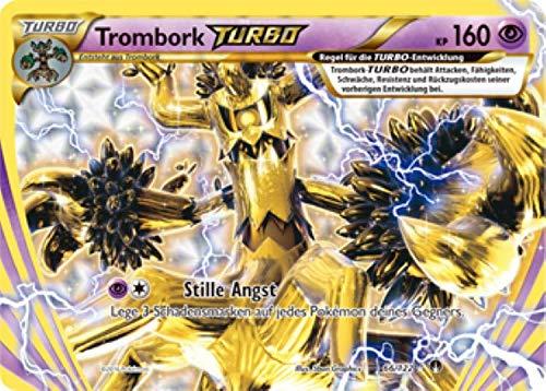 Trombork Turbo 66/122 Pokémon XY Turbo Fieber Sammelkarte - Deutsch - Cardicuno