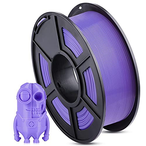 ANYCUBIC PLA 3D Printer Filament, 3D Printing PLA Filament 1.75mm Dimensional Accuracy +/- 0.02mm, 1KG Spool (2.2 lbs), Purple